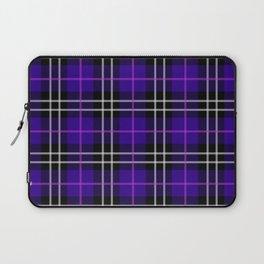 blue plaid pattern Laptop Sleeve