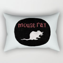 Mouse Rat Rectangular Pillow