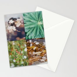 Autumn moodboard Stationery Cards