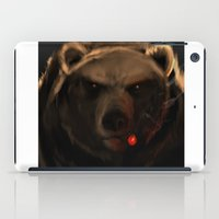 starcraft iPad Cases featuring Smoking Bear by Rookzer0