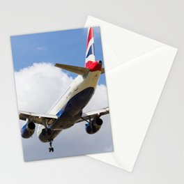 British Airways Airbus A320 Stationery Cards