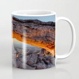 Mesa Arch Sunburst  by Lena Owens Coffee Mug
