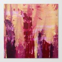 skyline Canvas Prints featuring Skyline by Stephanie Cole CREATIONS