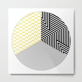 Geometric Circle #2 Metal Print