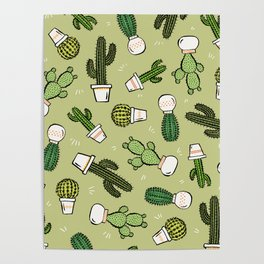 Cacti Dreams Poster