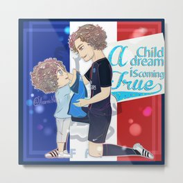 A Child dream Metal Print