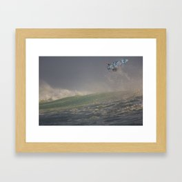 Surfer by Boone Speed Framed Art Print
