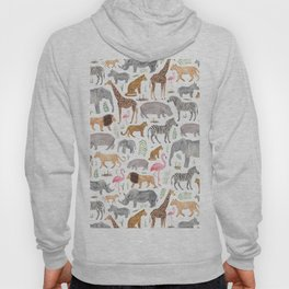 Safari Animals Hoody