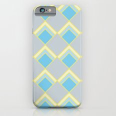 Diamond Art Deco; - Blue iPhone 6s Slim Case