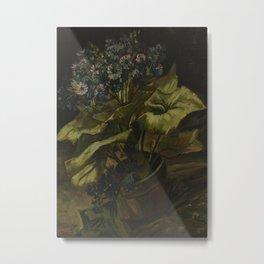 Cineraria Metal Print