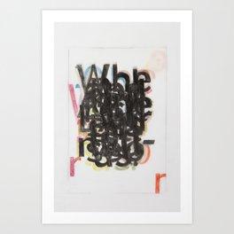 When Art Print