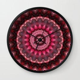 Mandala Vital Energy Wall Clock