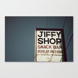 Jiffy Shop Canvas Print