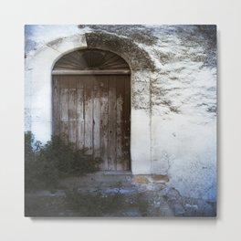 Italian Door Metal Print