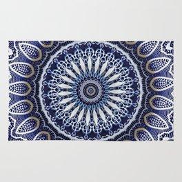 China Blue Rug