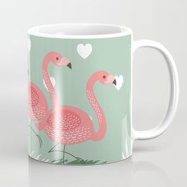 Heart flaming Coffee Mug