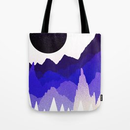 Glitter mountains Tote Bag