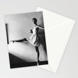 Dancing ballerina on film | Ballet performance in Firenze, Italy | Beautiful art, fine art  Stationery Cards