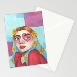 'Heart Eyes' Stationery Cards
