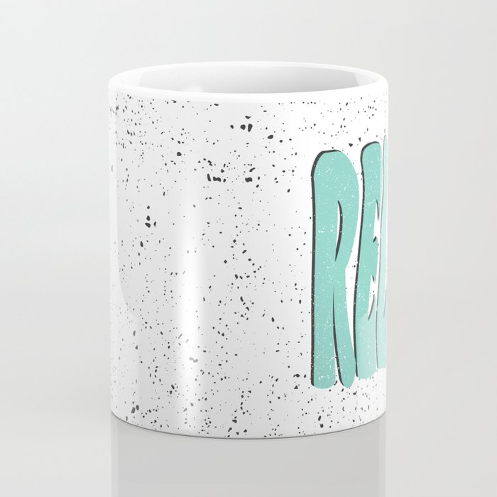 Relax Speckled Coffee Mug