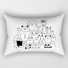 Oh Hi Rectangular Pillow