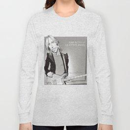 Tom Petty Caricature Long Sleeve T-shirt