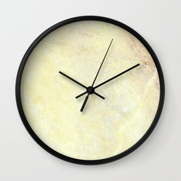 Marble with Okra Threads Wall Clock