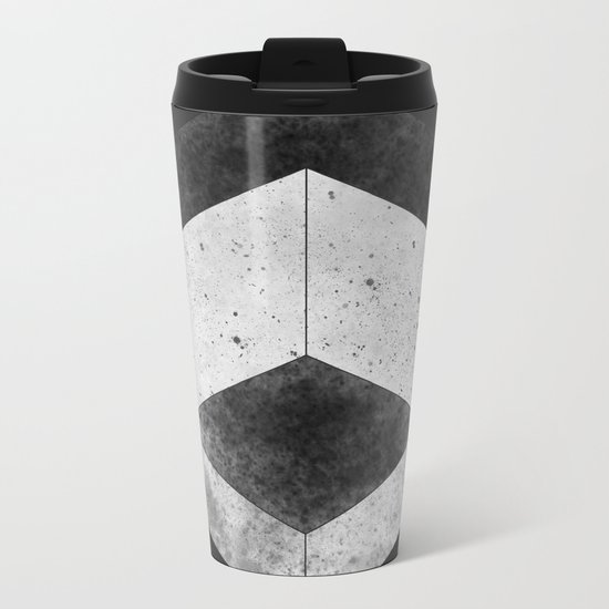Hex Metal Travel Mug