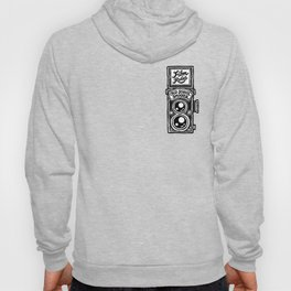 Analog Film Camera Medium Format Photography Shooter Hoody