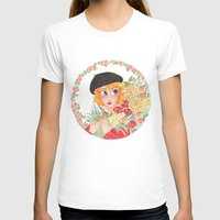 enjolras T-shirts featuring Flowers by foxflowers
