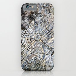 Old Tree Rings iPhone Case
