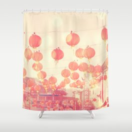 Chinatown. Los Angeles photograph Shower Curtain
