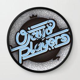 Ojayo Players logo 1 Wall Clock