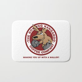 Boxing Kangaroo Coffee Company Bath Mat