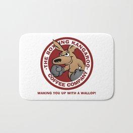 Boxing Kangaroo Coffee Company Bath Mat