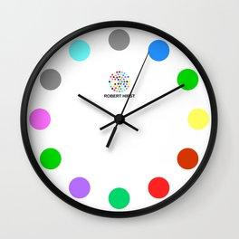 Robert Hirst Spot Clock 13 Wall Clock