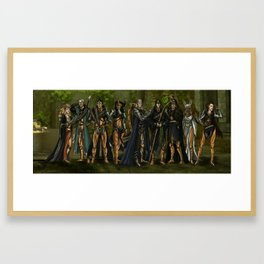 The Evanuris Framed Art Print