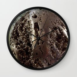 Pyrite sphere Wall Clock