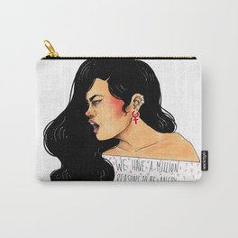 We have a million reasons to be angry Carry-All Pouch