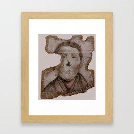 Silent Woman Framed Art Print