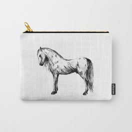 Sketch horse Carry-All Pouch