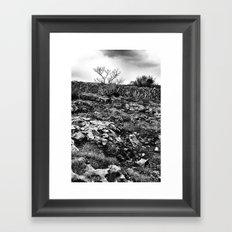 ... burrent ... Framed Art Print