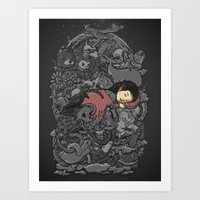 dreams Art Prints featuring Dreams by Alex Solis