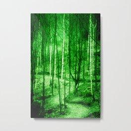 Trees  - JUSTART © Metal Print