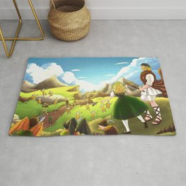 William Tell Freedom Fighter Rug