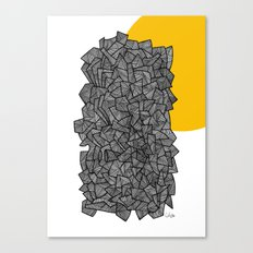 - burn - Canvas Print