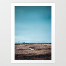 Lonely Little House Art Print
