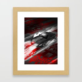 knight rider Framed Art Print