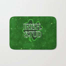 Irish Stud - St Patrick's Day Shamrock Bath Mat