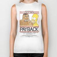 simpson Biker Tanks featuring Tatum vs Simpson: Payback by htsvll